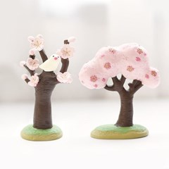 데꼴 마스코트 인형(벚꽃나무)