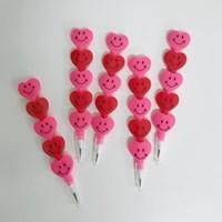 Heart Smile Pencil - 3개