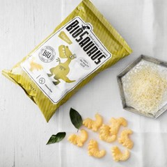 바이오사우루스 유기농 옥수수스낵 치즈맛 50g