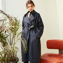 ROSE CLASSIC TRENCH COAT_NAVY