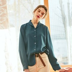 PEARL CLASSIC BLOUSE_BLUE