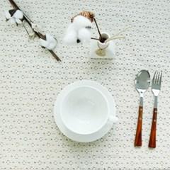 레이스꽃잎 테이블커버