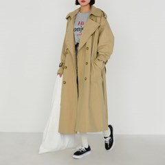 natural trench coat