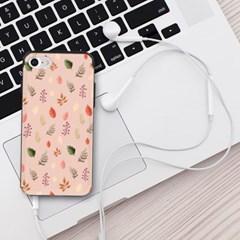NBH-0150 색연필 나뭇잎 살구 슬라이더케이스