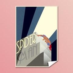 [MARVEL] 마블코믹스 정품 레트로아트 포스터 - 스파이더맨 #2