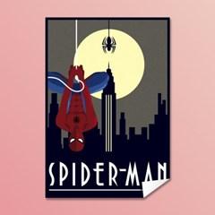 [MARVEL] 마블코믹스 정품 레트로아트 포스터 - 스파이더맨 #1