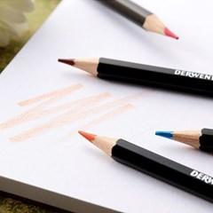 더웬트 아카데미 유성 색연필 12색 틴케이스