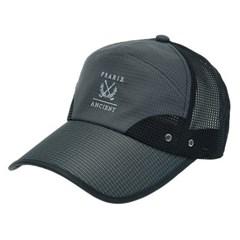 [더그레이]DCO03.남성 메쉬 체크챙 캡모자 골프 모자