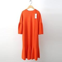 Hoega Wool Flare Knit Dress