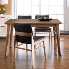 아리아퍼니쳐 Zodax-4-Walnut 다이닝테이블 (table only)