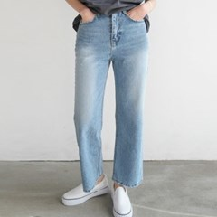Broaden denim pants