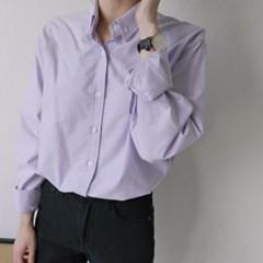 옥스포드 스프링컬러 셔츠 (5-COLORS)