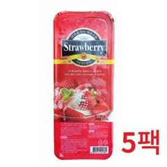 냉동-푸드웰 국내산 가당 딸기 1kg 5개묶음_(646888)