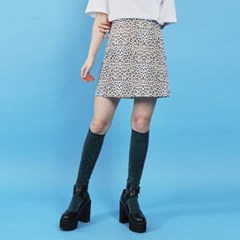 leopard mini skirt (2 color)_(886817)
