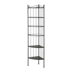 이케아 RONNSKAR 코너 선반진열대(37X37X176) /욕실선반