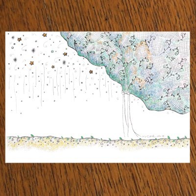 STRAWHAT LOVE illust postcard-은혜