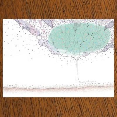 STRAWHAT LOVE illust postcard-평강