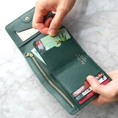 [스크래치] Day Classic Half Wallet