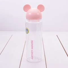 디즈니 미키 입체 아이콘 보틀 핑크