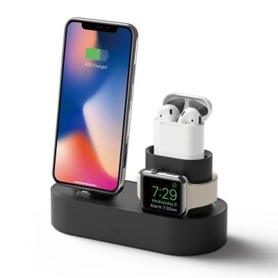 아이폰 에어팟 애플워치 3IN1 충전스탠드 (1,2공용) [4 color]