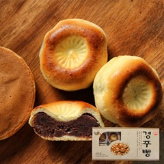 팥이 가득찬 경주빵/찰보리빵/꿀빵 선물세트!_(776594)
