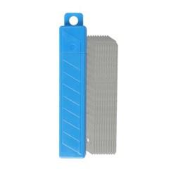 SDI 고탄소강 리필 커터칼 18mm 대형 (10개입)_(1089997)