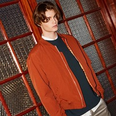 SEMI WIDE BLOUSON_DARK ORANGE