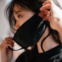 [Organic Mask] Black-long (Adult)