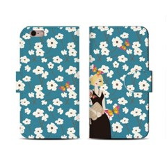 4Pocket Diary cover/ Girl-Blonde