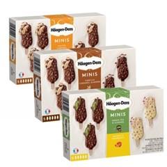 하겐다즈 아이스크림 미니바 5개세트