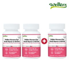 [웰러스] [2+1] 미국직수입 여성멀티비타민 90정*3박스/ (9개월분)