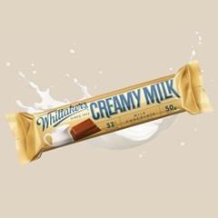 휘태커스 크리미 밀크 미니블럭 초콜릿 50g