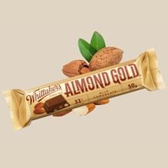 휘태커스 아몬드골드 미니블럭 초콜릿 50g