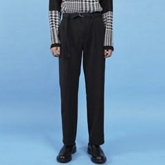 belted wide slacks (2 color) - UNISEX_(891373)