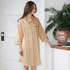 [w] Classic Cherry Long Shirt