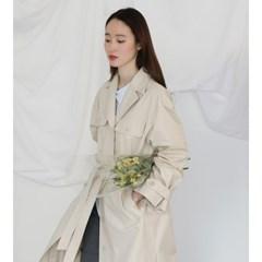 [치즈달] natural trench coat