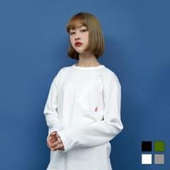 2068 해비 라운드넥 긴팔 티셔츠 (4colors)