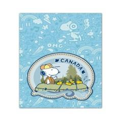 스누피 트래블데코스티커14 캐나다2