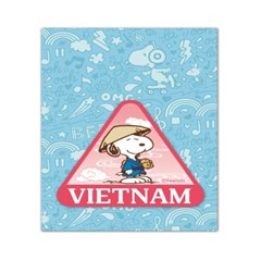 스누피 트래블데코스티커7 베트남