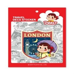 페코 트래블데코스티커13 런던1