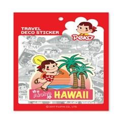 페코 트래블데코스티커11 하와이1
