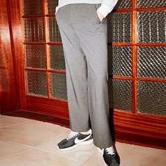 LAURENT WIDE SLACKS_GRAY