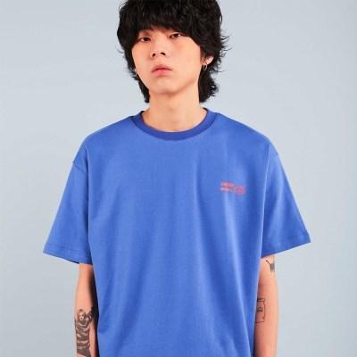 BUMPS T-SHIRT / BLUE