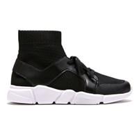 [FD]Knit Socks Sneakers_Black