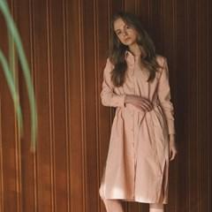[올핏스튜디오] 시그니처 투웨이 코트_pink