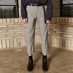 CAYEL CHECK SLACKS_GRAY