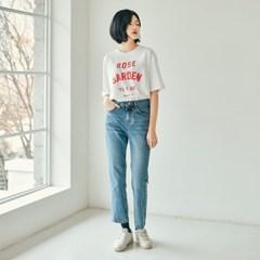 로즈 베이직 티셔츠