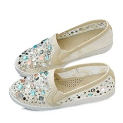 kami et muse Various color beads lace slip on_KM18s092