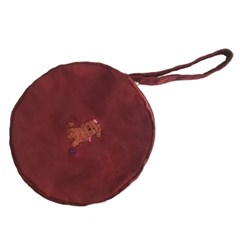 poodle tambourine bag