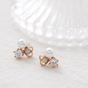 opal heart pearl